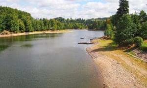 Pastviny dam, Czech Republic.