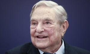 The billionaire George Soros has become a prime target of antisemitic attacks from the right.
