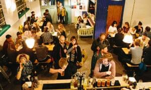 The Nines bar