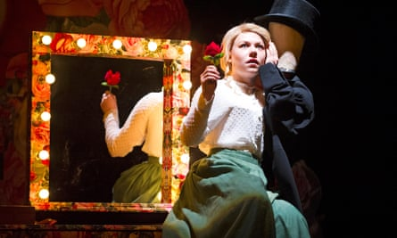 Sally Messham as Nancy in Tipping The Velvet at the Lyric theatre, Hammersmith.