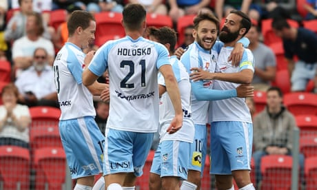 Sydney FC continue perfect A-League run, grounding Jets