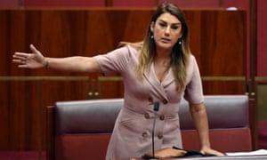 Greens senator Lidia Thorpe.