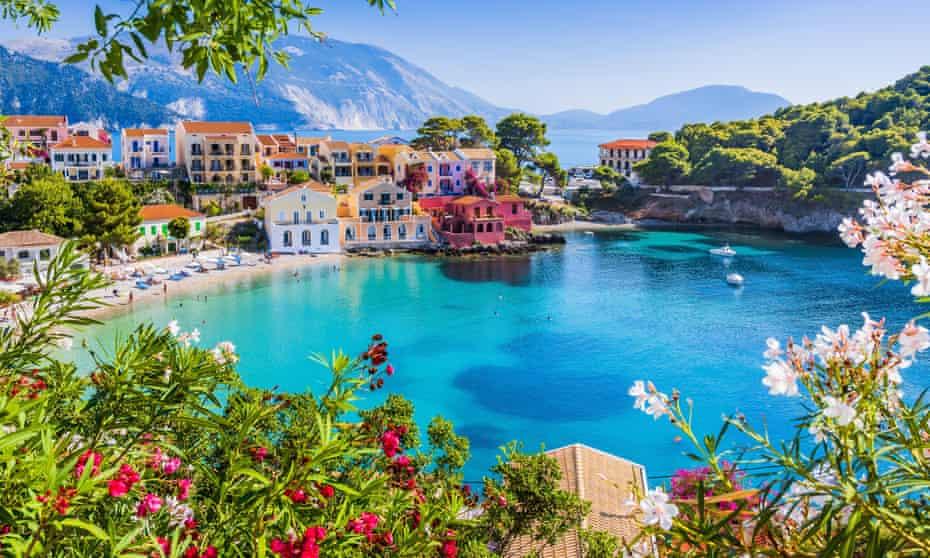 Assos in the Greek island of Kefalonia
