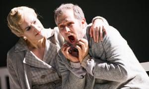Intimations of mortality … Helena Rasker as Erna and Christoph Pohl as Johannes.