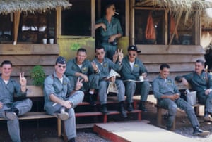 John Morrissey - The Pilots at Korat Royal Air Base in Thailand,before the first mission of Rolling Thunder, 2 March 1965. Served 1963-73