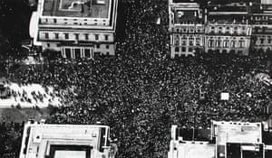 Protest Crowd, London (Brexit 1, June 2018)