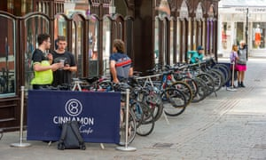The proposals include the provision of more cycle racks in city and town centres to encourage people to arrive by bike.