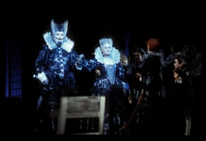 2001: King of the Faries: Michael Chance as Oberon Queen of the Fairies: Lisa Larsson
