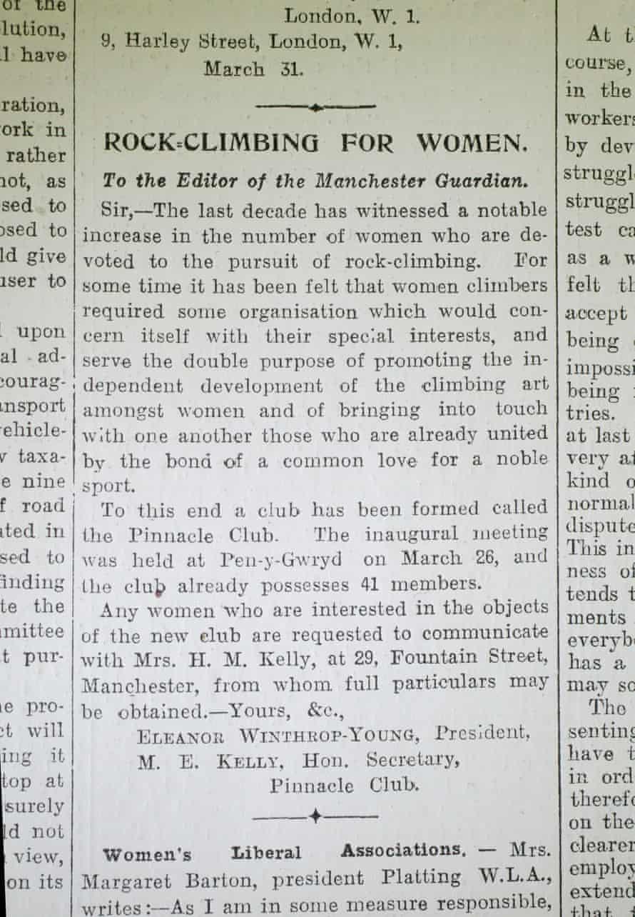 The Guardian, 2 April 1921.