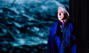 Dmitri Hvorostovsky as Eugene Onegin in the Royal Opera House London's 2015 production.