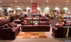 Harvey's Furniture showroom in Aylesbury
