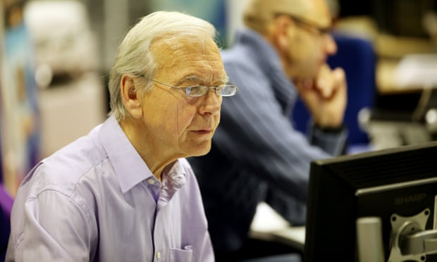 John Humphrys versus new technology - he's game for anything