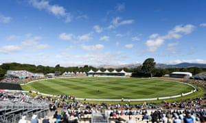 Hagley Oval in Christchurch was not affected by Sunday's 5.7-magnitude earthquake.