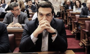 Alexis Tsipras ... 'Syriza, although it governs, is substantially hollowed out as a political force.'