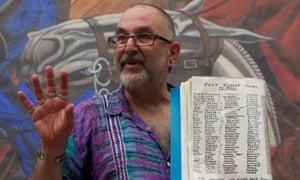 David Rosenberg on one of his East End walks