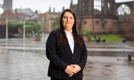 Aimee Challenor, who has withdrawn from the race to be deputy leader of the Green party.