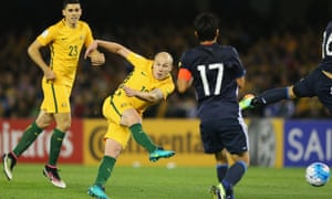 There was little separating Australian and Japan in their World Cup qualifying encounter in Melbourne.