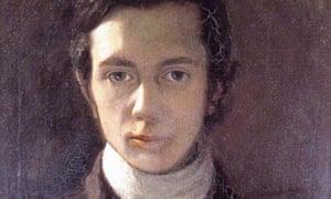 William Hazlitt self portrait (1802).