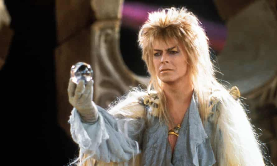 David Bowie in Labyrinth, directed by Jim Henson in 1986.