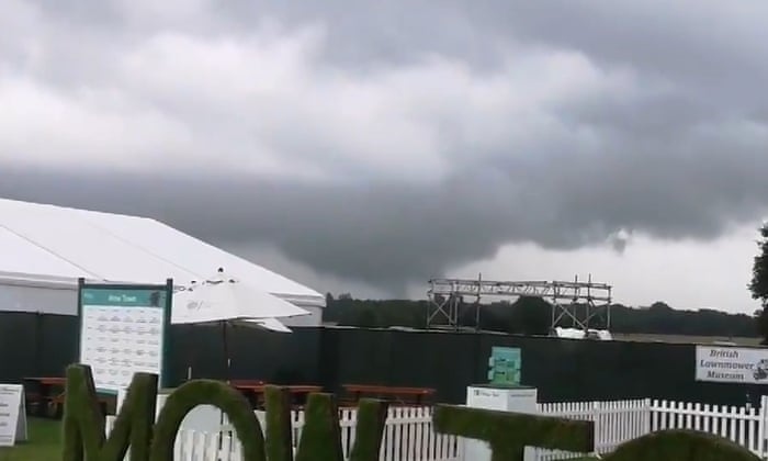 UK summer weather: tornadoes, torrential rain – and a