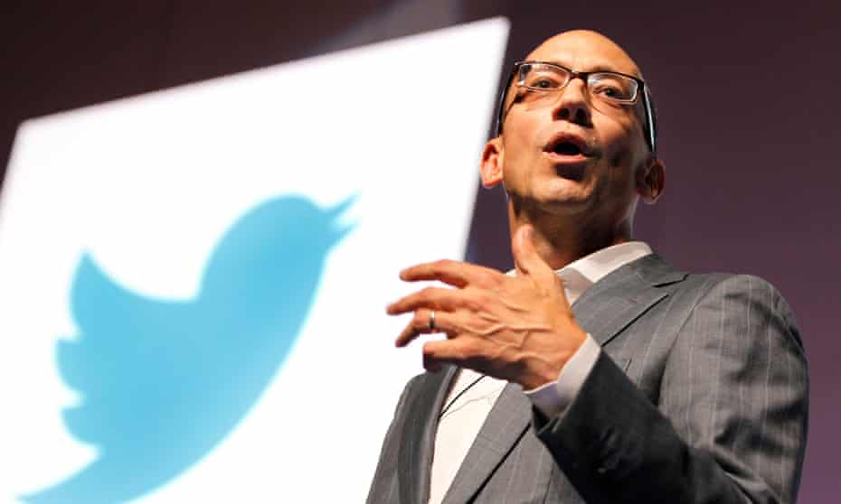 The outgoing CEO Dick Costolo had earlier apologised for Twitter's response to complaints about bullying and trolls saying: 'Nobody's fault but mine.'