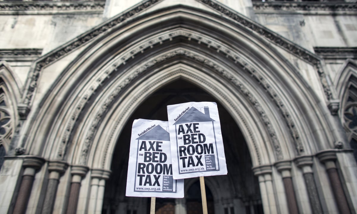 The Bedroom Tax Explained Society The Guardian