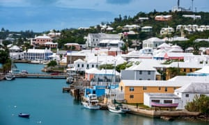 The Unesco listed town of St George in Bermuda.