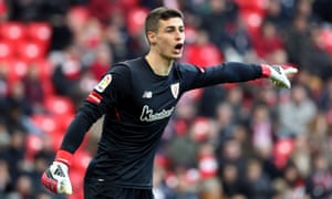 Kepa Arrizabalaga has a release clause of €80m (£71.6m) and Chelsea are ready to meet it to secure him before Thursday's transfer deadline.