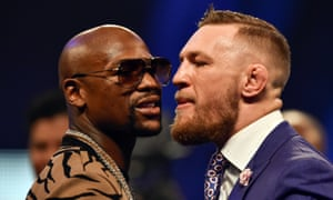 Floyd Mayweather and Conor McGregor face off at the end of a week of promotional events that has become an ugly war of words.