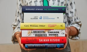 Presenting the competition … the six novels shortlisted for the Booker Prize 2019.