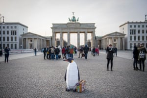 March of the Penguins in Berlin.