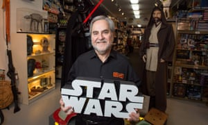 Steve Sansweet, the man behind the world's largest trove of Star Wars memorabilia, called the theft an 'utter betrayal'.
