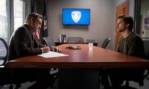 Bill Pullman et Matt Bomer dans The Sinner