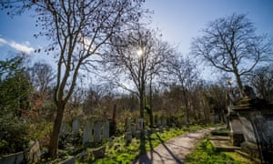 Tower Hamlets Cemetery in the East End of London