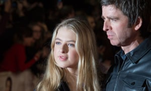 Noel Gallagher with Anaïs: 'When you've got a teenage daughter, you better get with it pretty quick.'