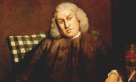 Samuel Johnson, circa 1754.