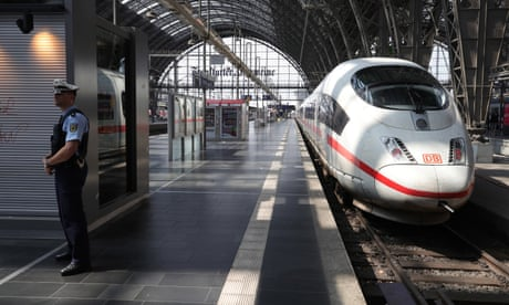 Boy dies after he and mother are pushed on train tracks in Germany