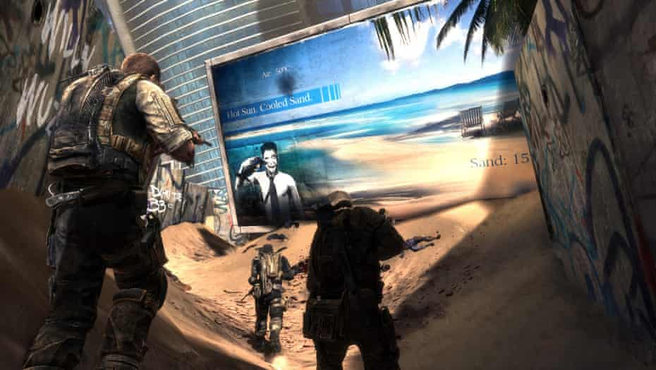 Critique … Spec Ops: The Line questioned the morality of military intervention.