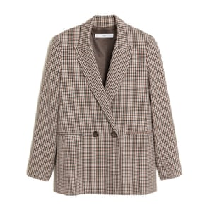 Check blazer  Ward off a chill with this smart and timeless jacket. £59.99, mango.com
