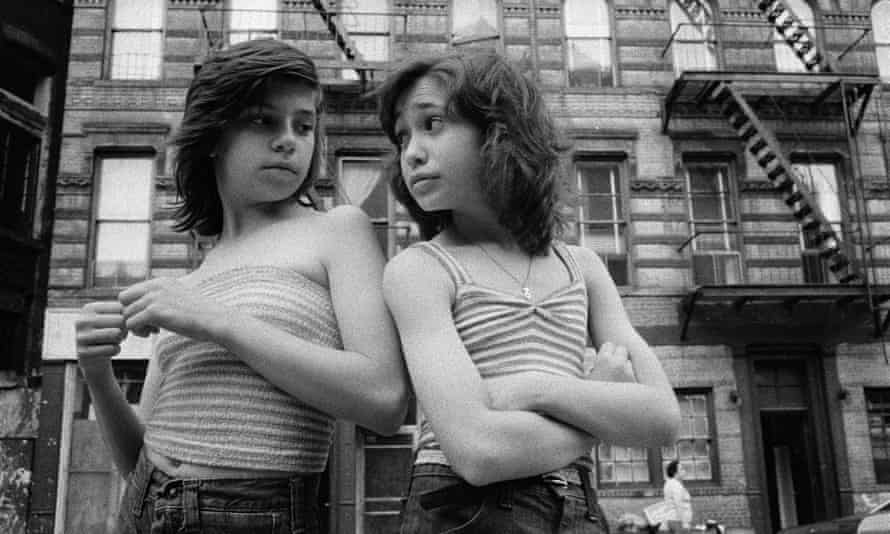 'Their daughters now want to see the photographs' … Dee and Lisa on Mott Street, from Prince Street Girls.