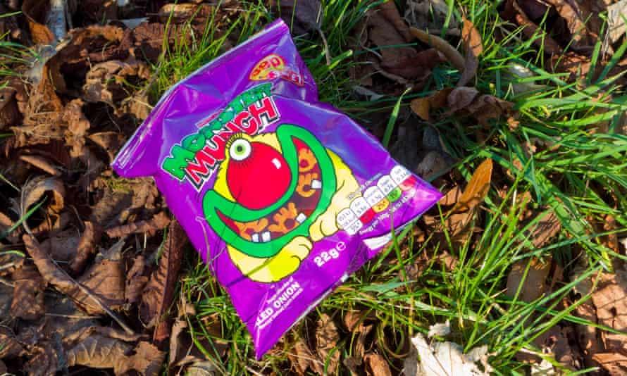 Monster Munch Crisp Packet