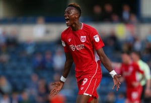 Tammy Abraham had a season to remember for the Robins.
