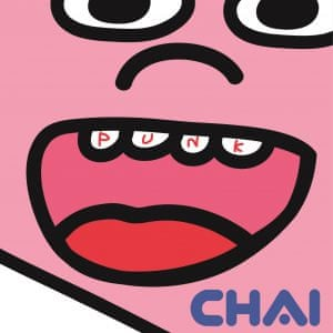 Chai: Punk album artwork