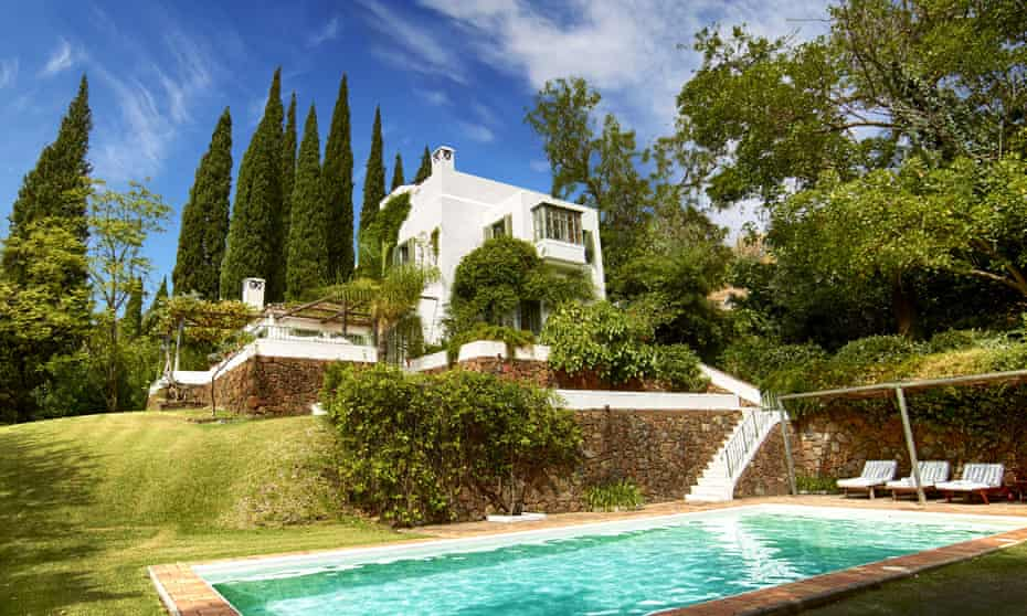 The Marbella estate that Boris Johnson has been staying in.