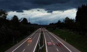 a motorway in germany