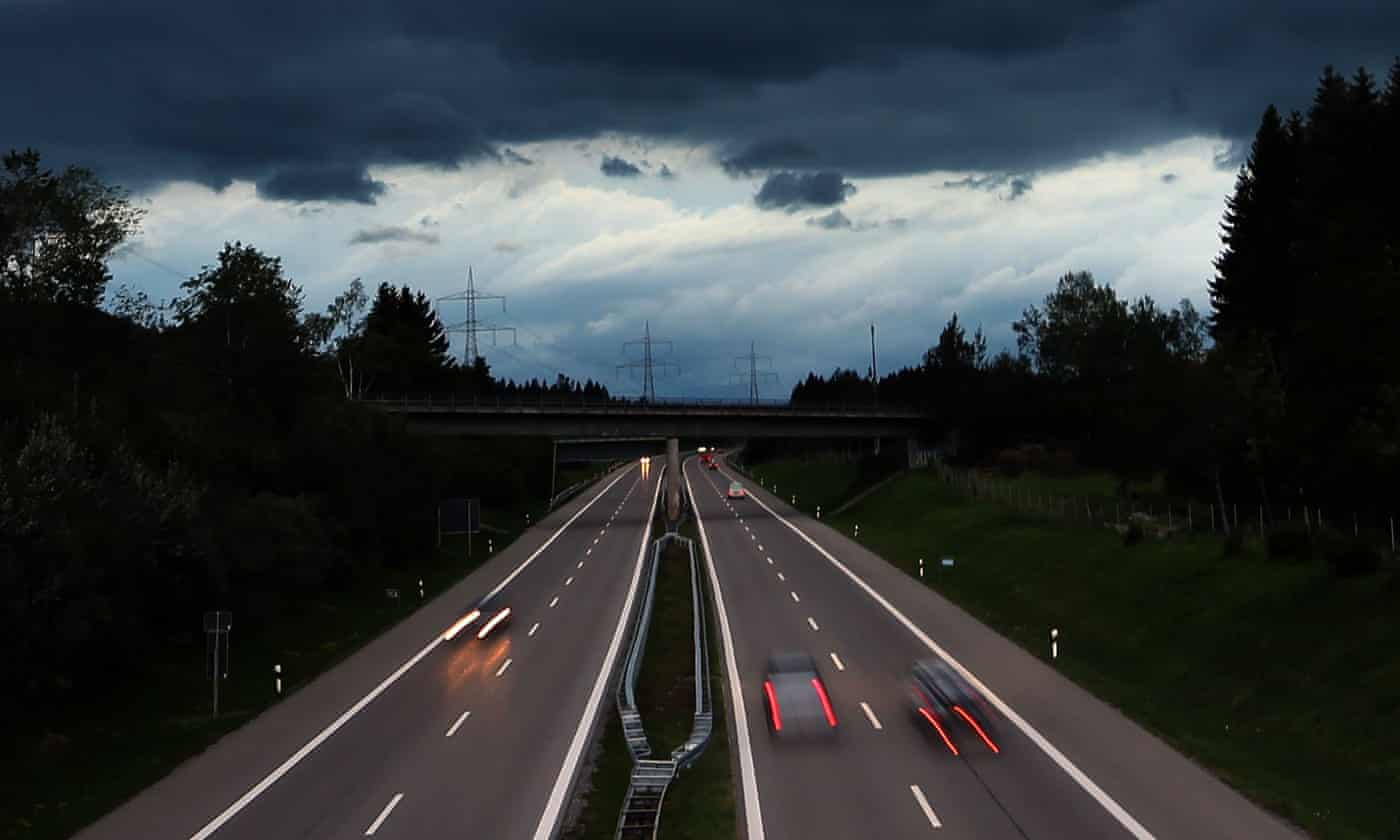 'Just wanted to drive a little': eight-year-old German boy takes car for 140km/h spin