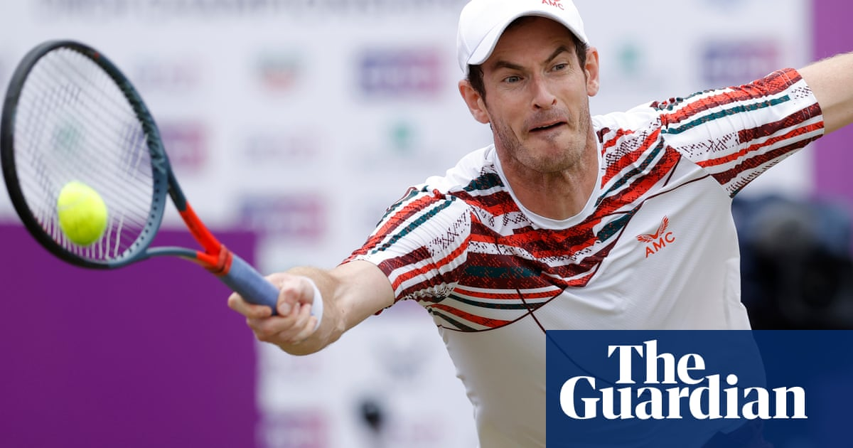 Andy Murray's Queen's Club comeback halted by defeat to Matteo Berrettini
