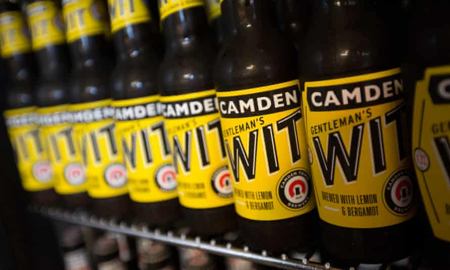 Beers from Camden Town Brewery