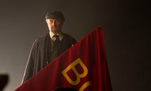 Nick Asbury as Lenin in Countdown to Revolution.