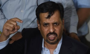 Former mayor of the southern Pakistan city of Karachi Mustafa Kamal.